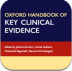 Oxford Handbook of Key Clinical Evidence app